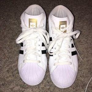 Adidas Hightop Shoes